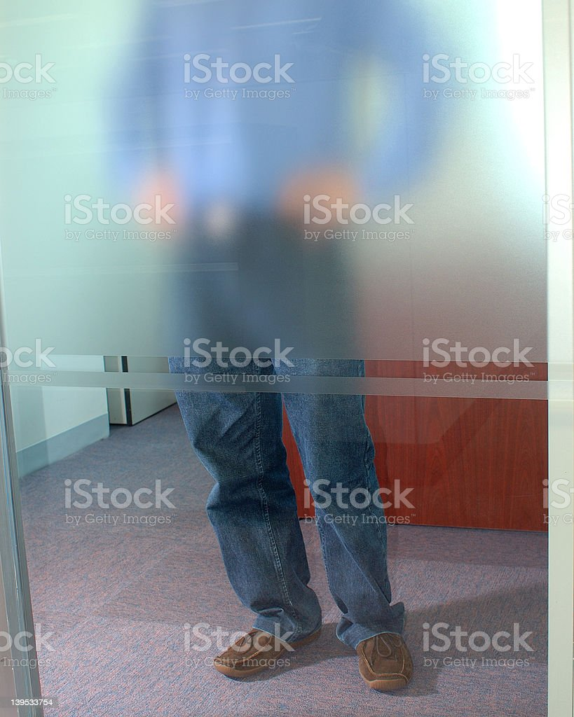 thoughts - office series 3 royalty-free stock photo