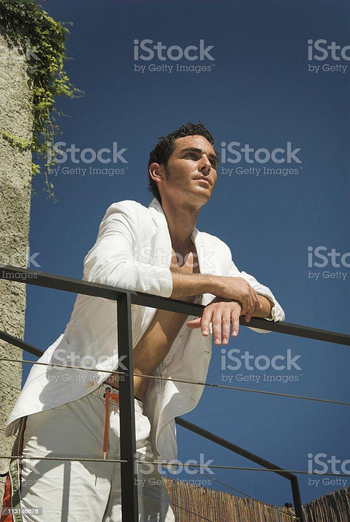 Thougtful Summertime Mood stock photo