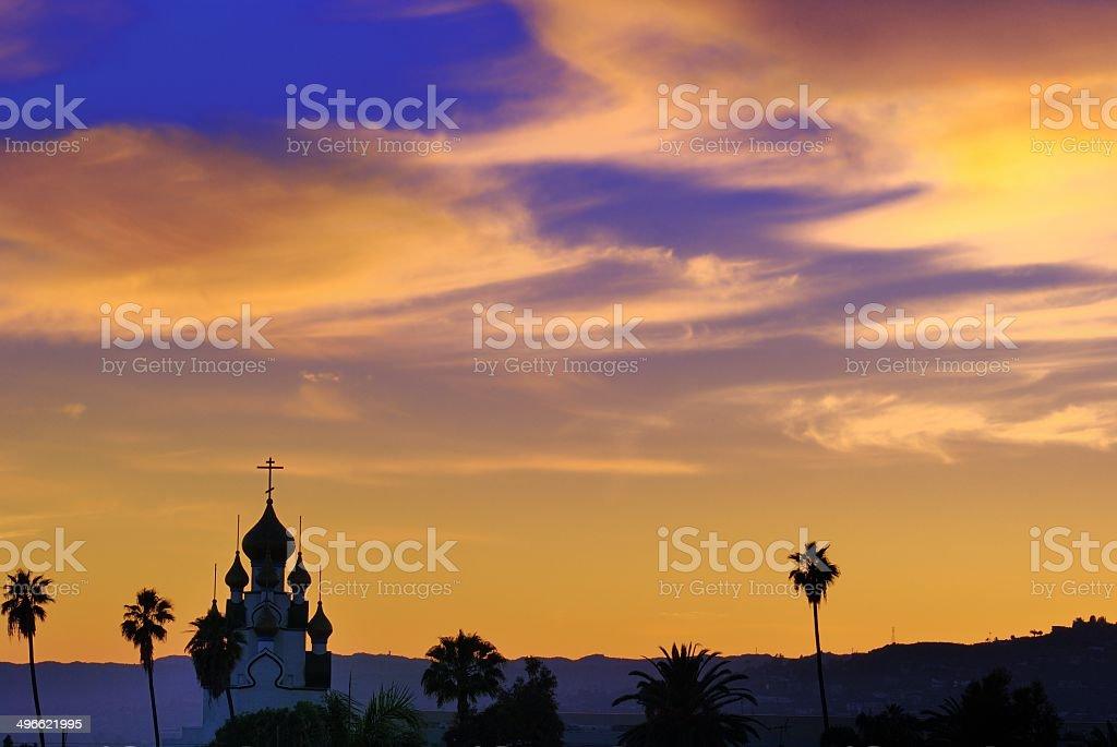 MIL y una noche en Hollywood vista - foto de stock