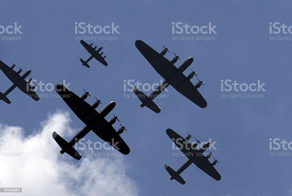 Thousand Bomber Raid stock photo