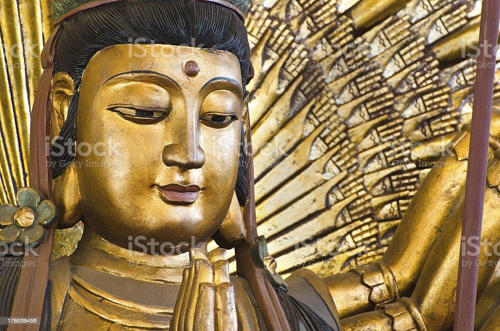 Thousand hands  Guan Yin, chinese god royalty-free stock photo