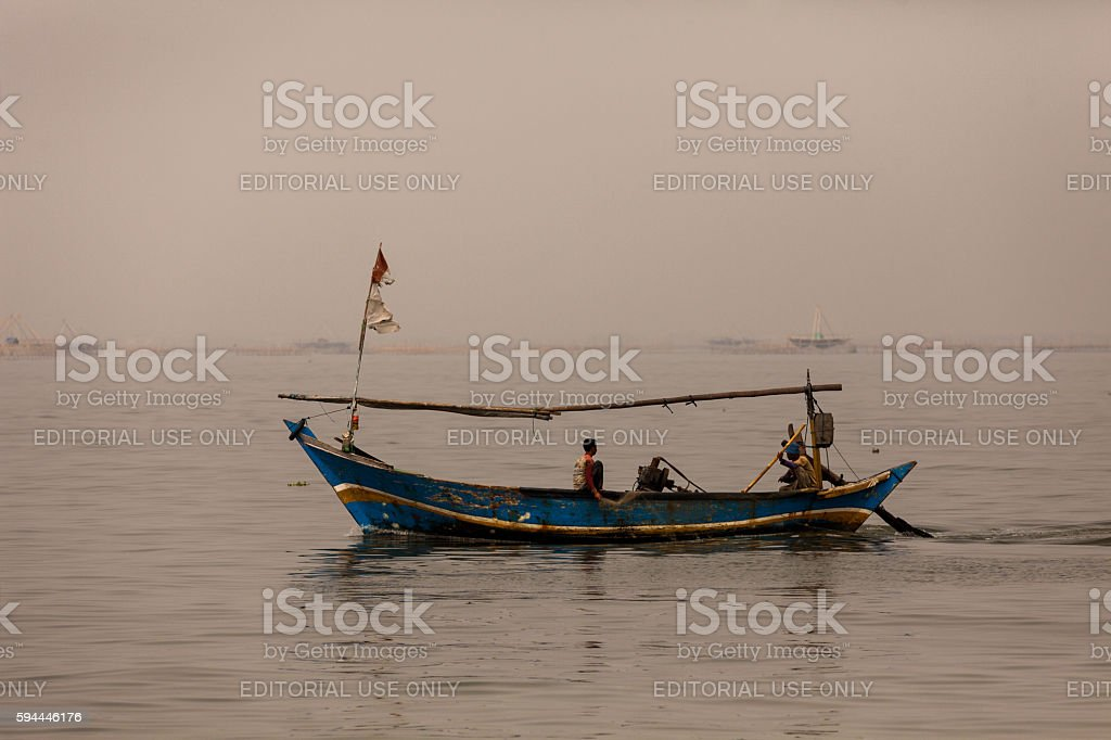 Thousand Islands in Jakarta, Indonesia stock photo