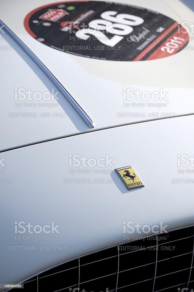 Mille Miglia royalty-free stock photo