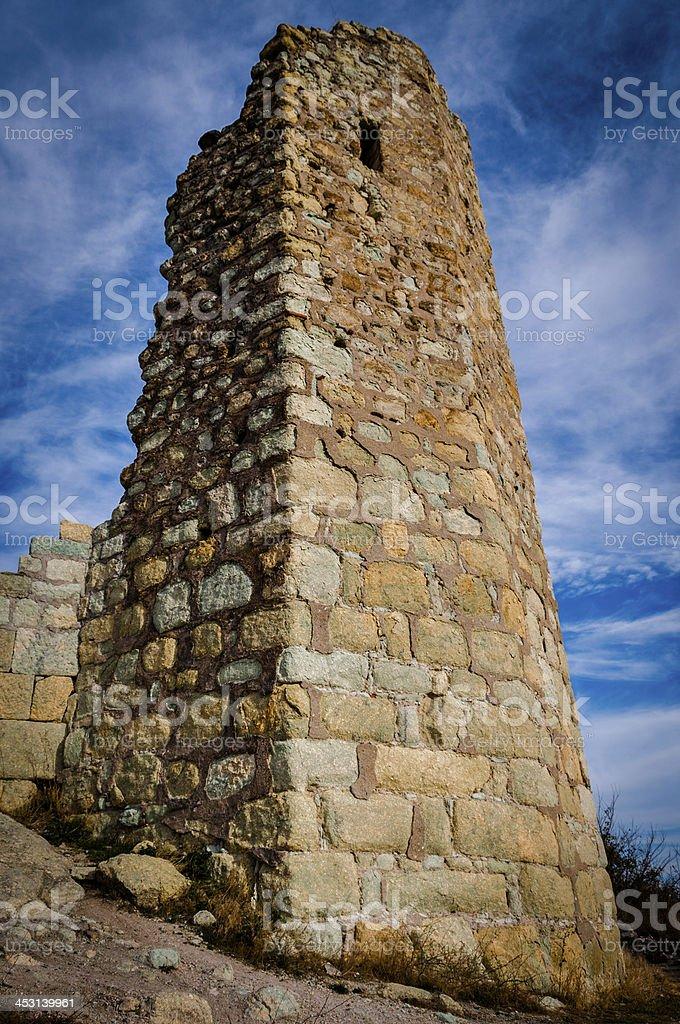 Thracian Tower royalty-free stock photo