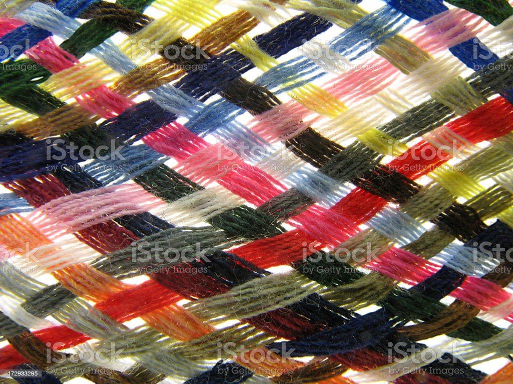 Thread count. stock photo