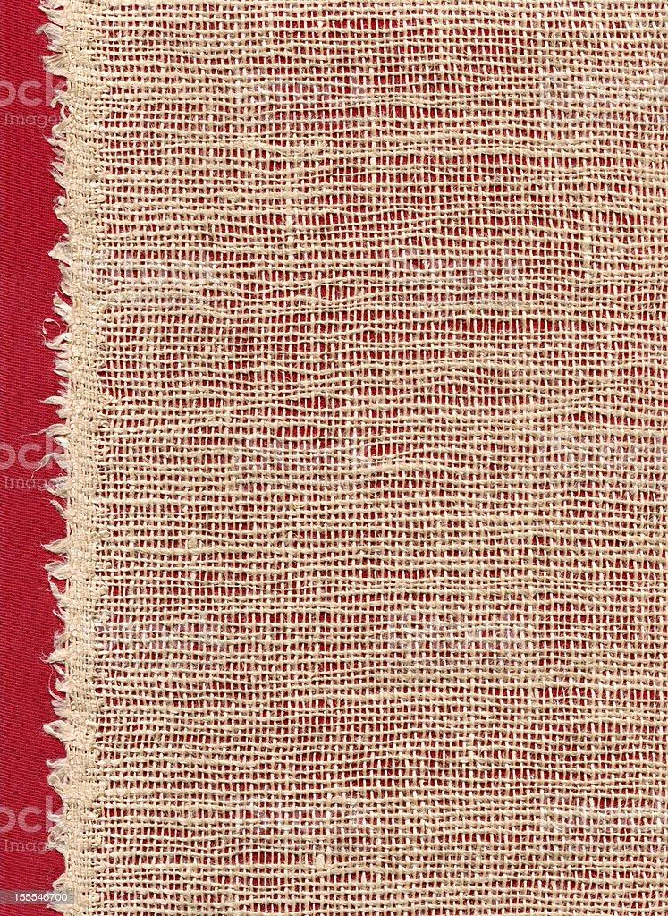 Threaded Fabric royalty-free stock photo