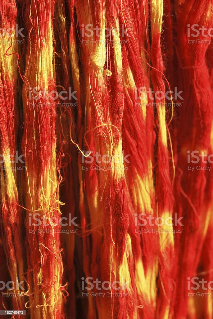 Threads royalty-free stock photo