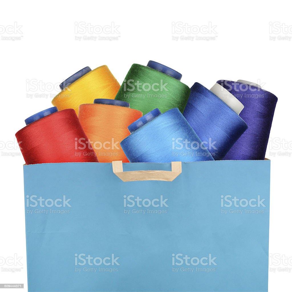 Threads stock photo