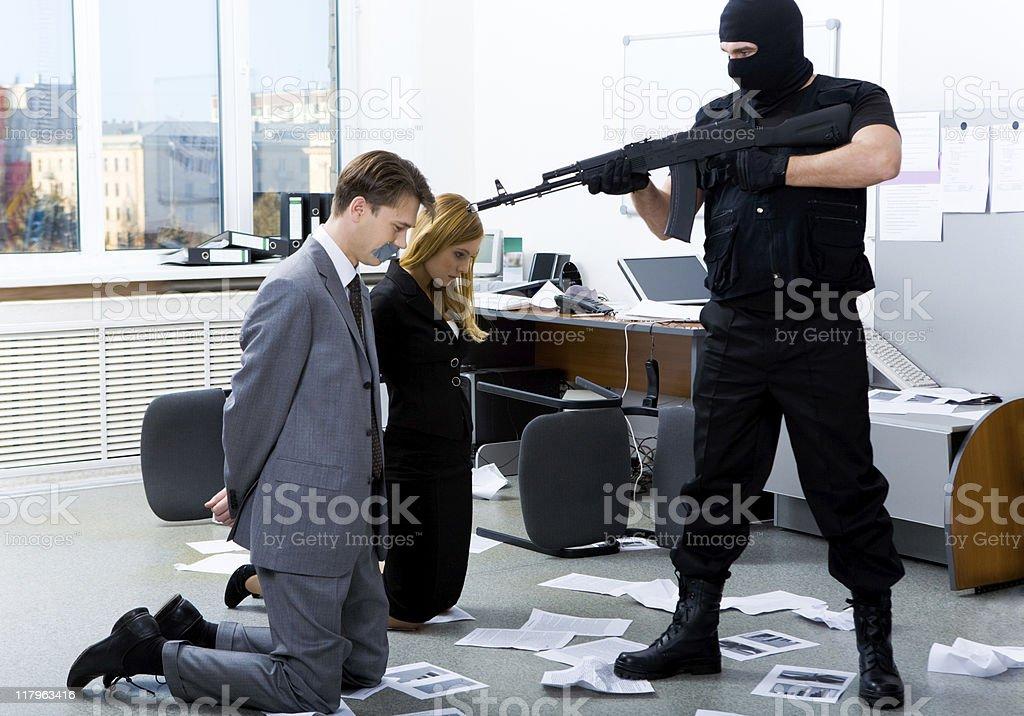Threatening stock photo