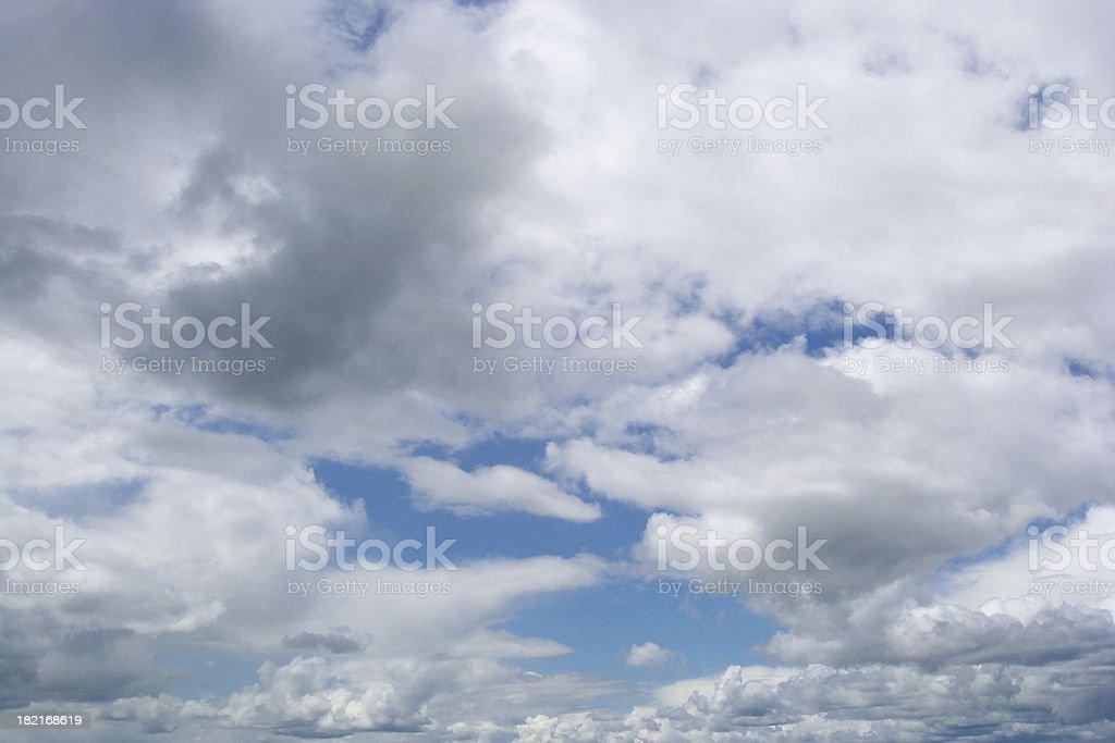Threatening Sky royalty-free stock photo