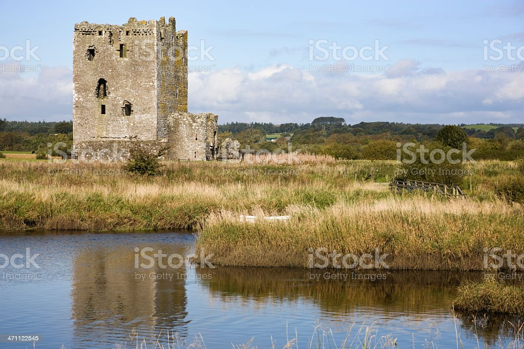 Threave Castle Across The River royalty-free stock photo