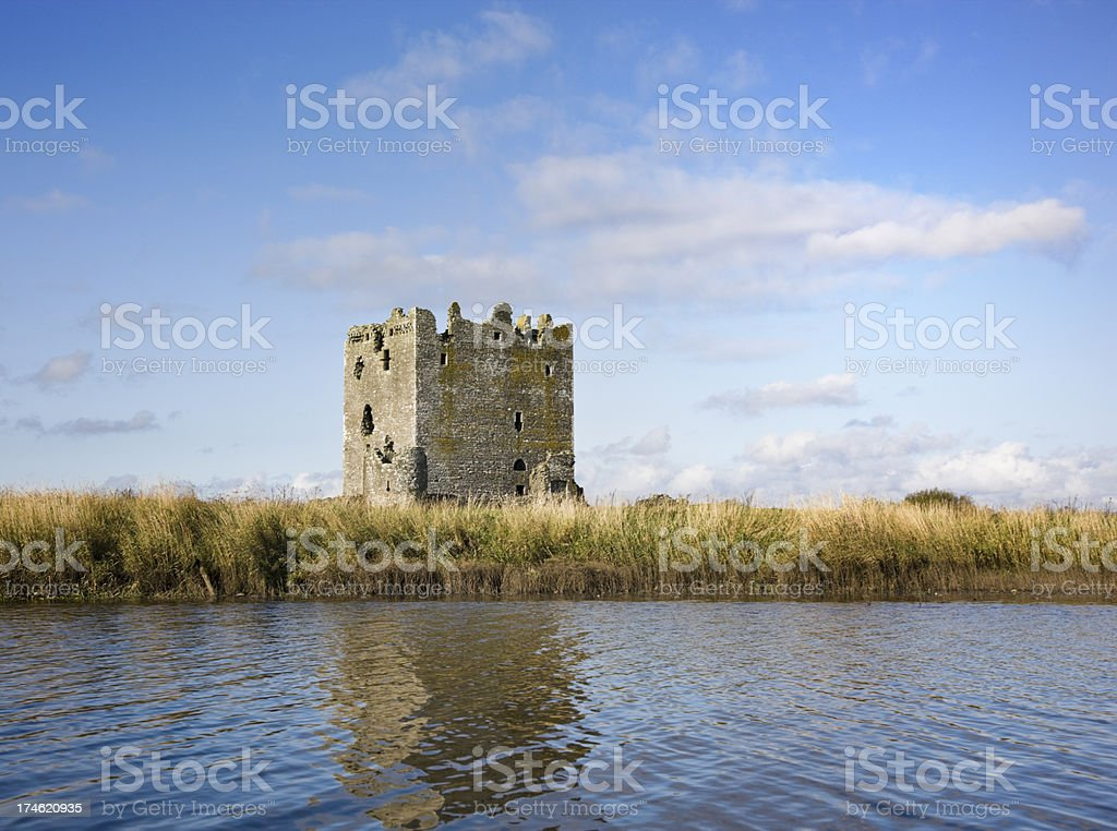 Threave Castle From The River royalty-free stock photo