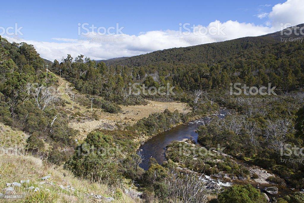 Thredo River stock photo