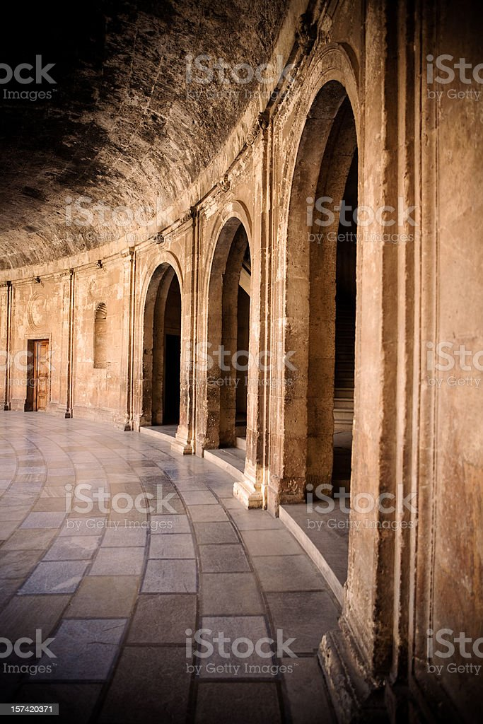 Three Archs royalty-free stock photo