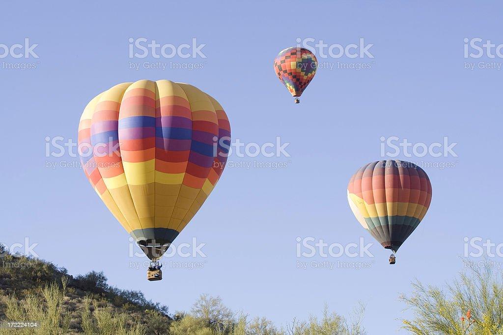 Three Balloons stock photo