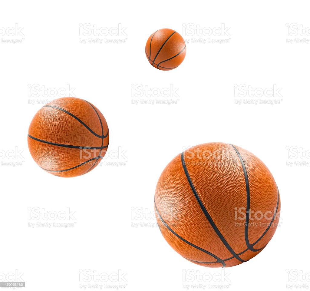 Three Basketball ball stock photo
