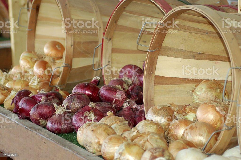 Three Baskets stock photo