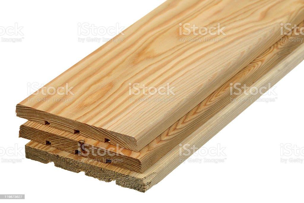 Three boards stock photo
