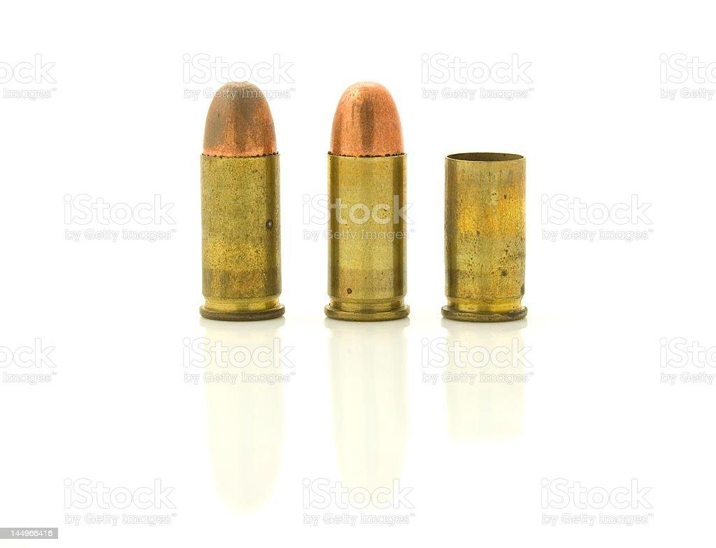 Three Bullets royalty-free stock photo
