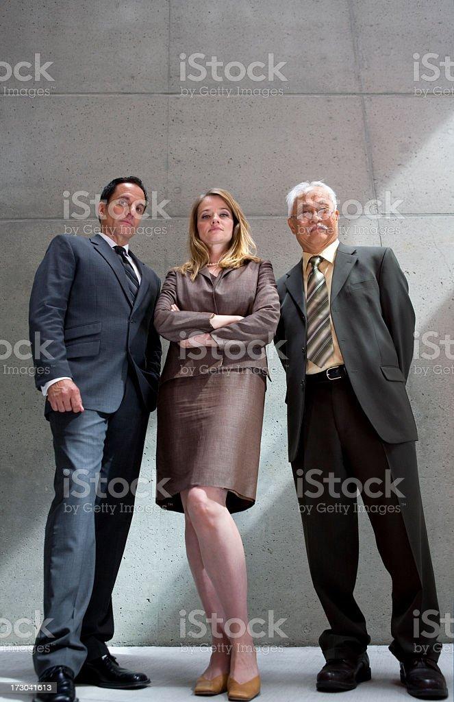 three business people stock photo