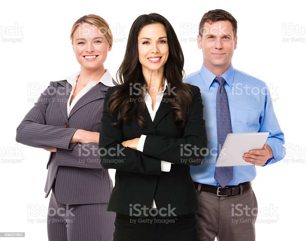 Three Business Team stock photo