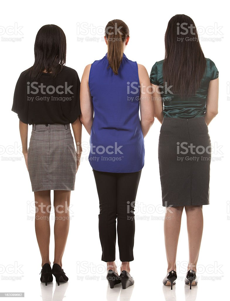 three business women royalty-free stock photo