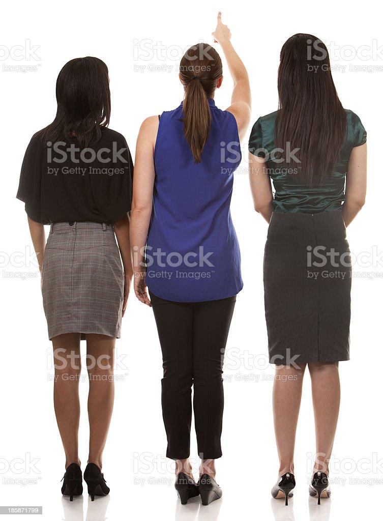 three business women royalty-free stock photo