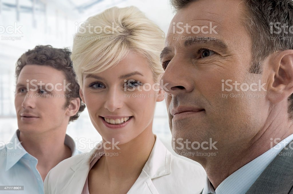 Three Businesspeople royalty-free stock photo