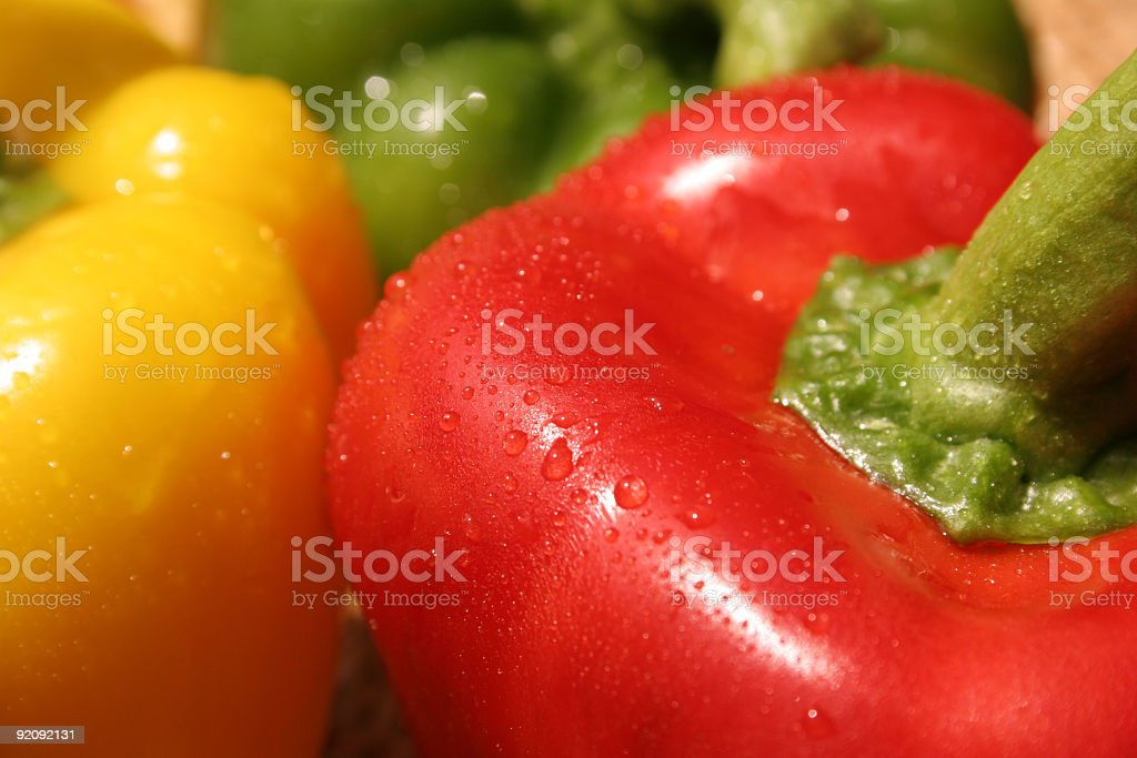 Three Colors Pepper stock photo