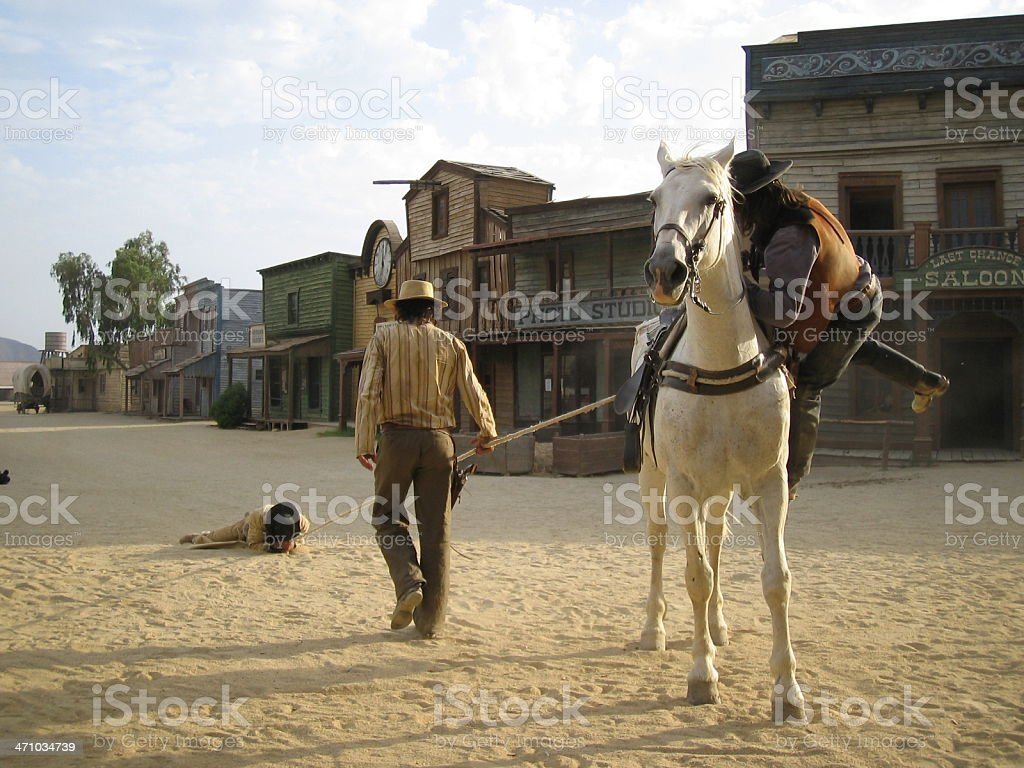 Three Cowboy ...:::Far West Series'::.. stock photo