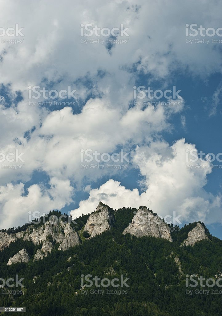 Tres corona foto de stock libre de derechos