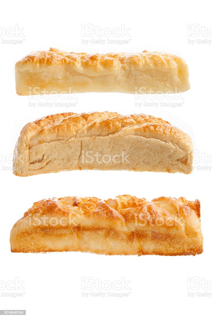 Three different Loaves of bread stock photo