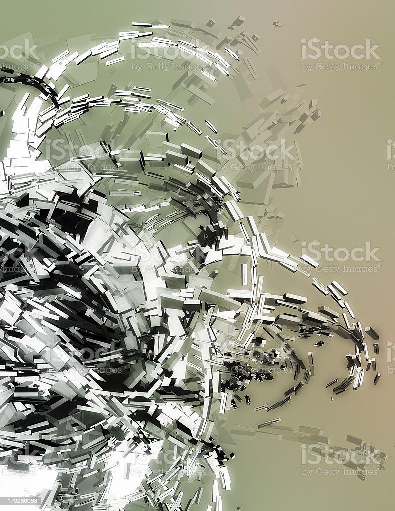 Three dimensional illustration stock photo