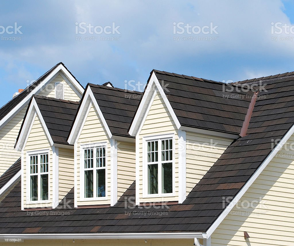 Three Dormers stock photo