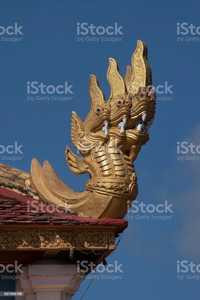 Three Dragons stock photo