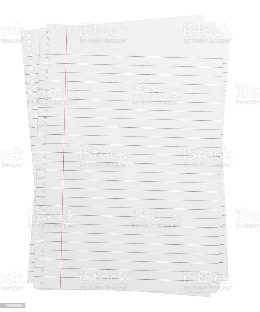 Three empty page royalty-free stock photo