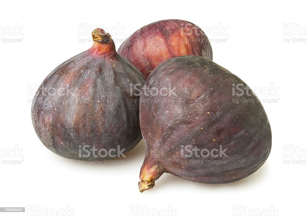 three figs stock photo