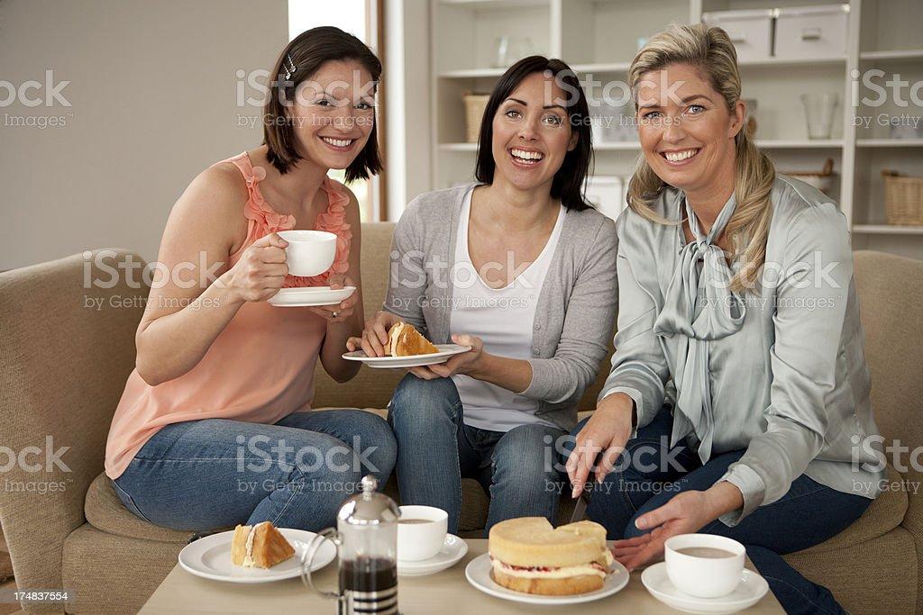 Three for Tea royalty-free stock photo