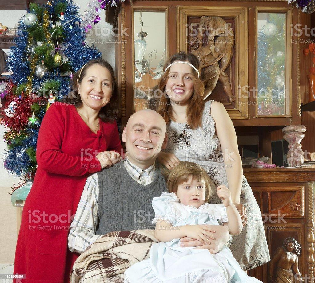 three generations family royalty-free stock photo