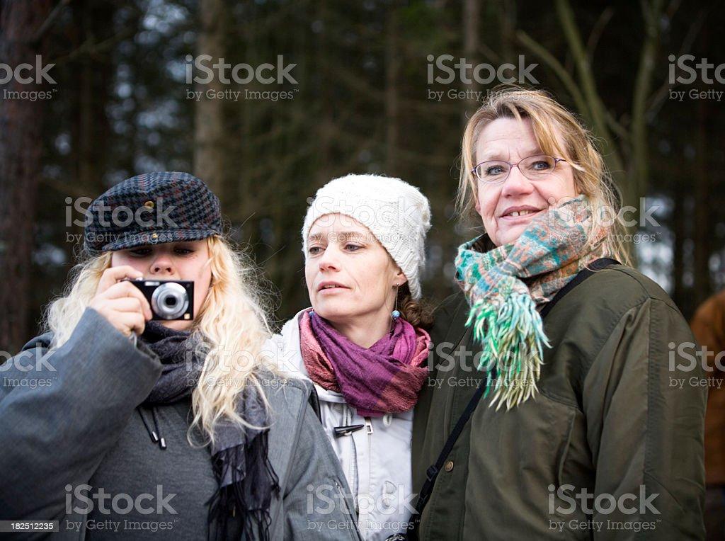 Three Generations. royalty-free stock photo