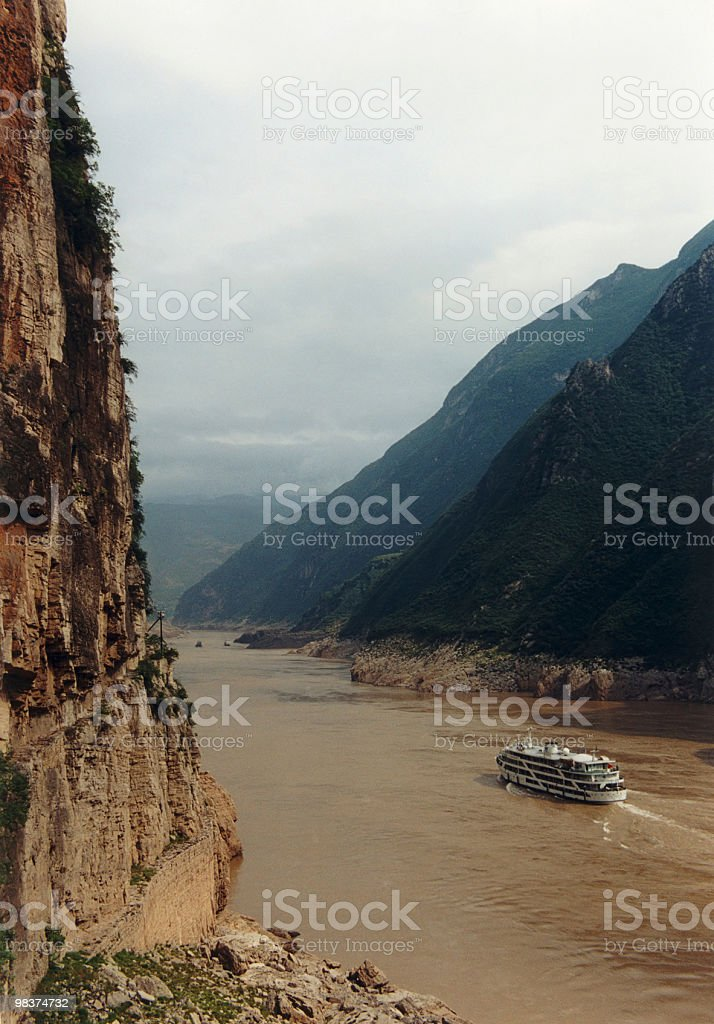 three gorges stock photo