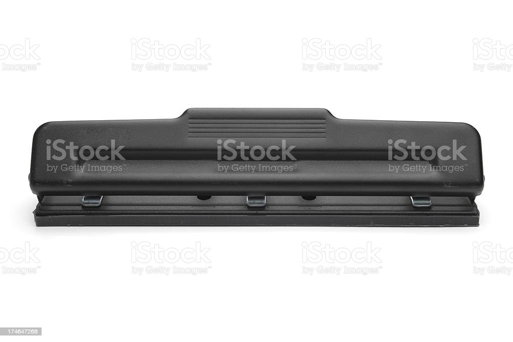 Three Hole Punch stock photo
