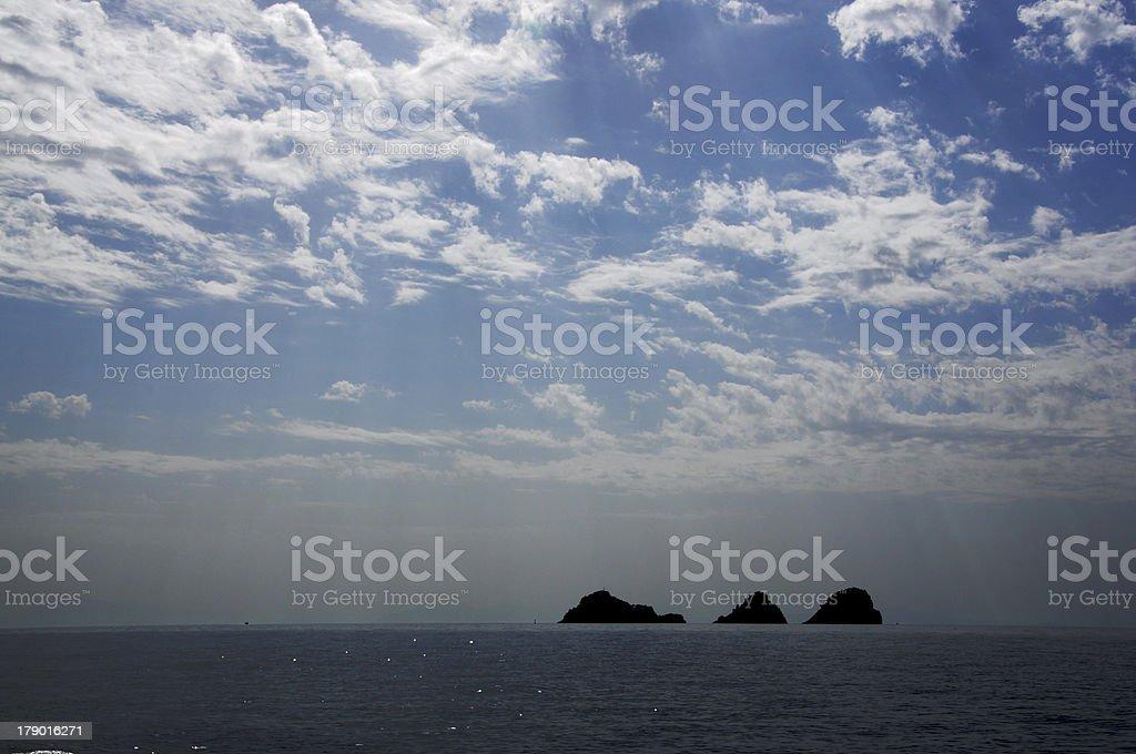 3 つの島 ロイヤリティフリーストックフォト