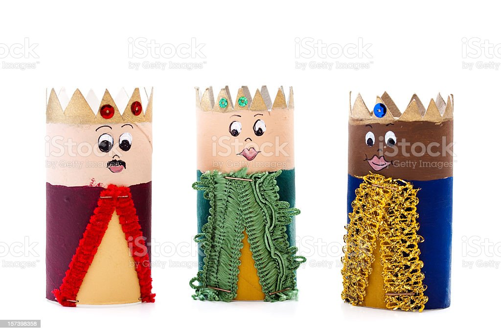 Three kings (3 Wise men) royalty-free stock photo