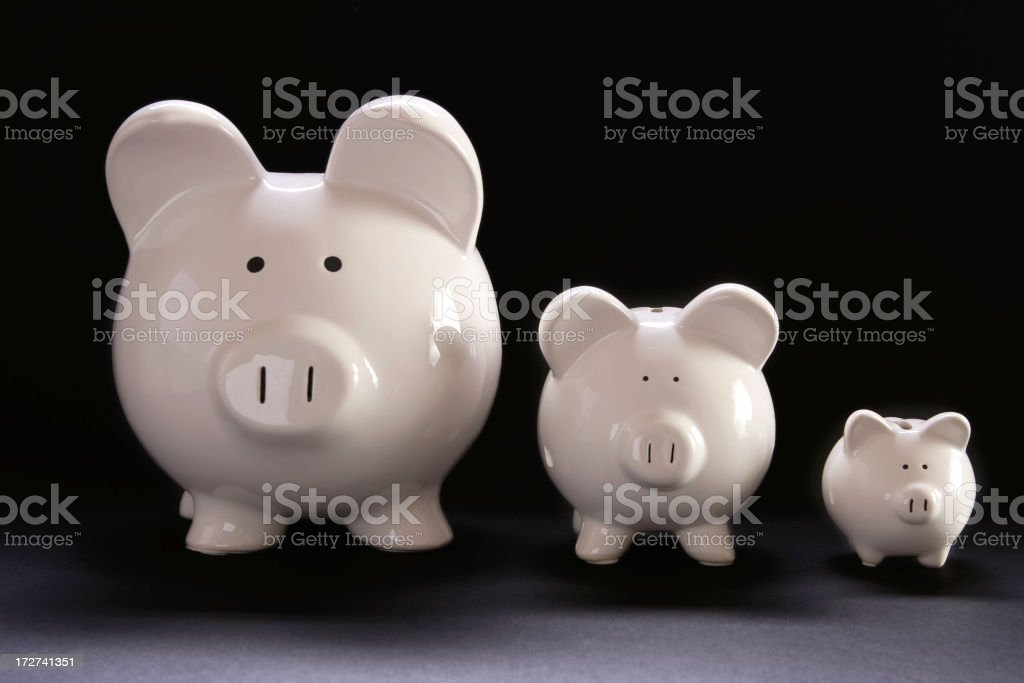 Three Little Pigs stock photo