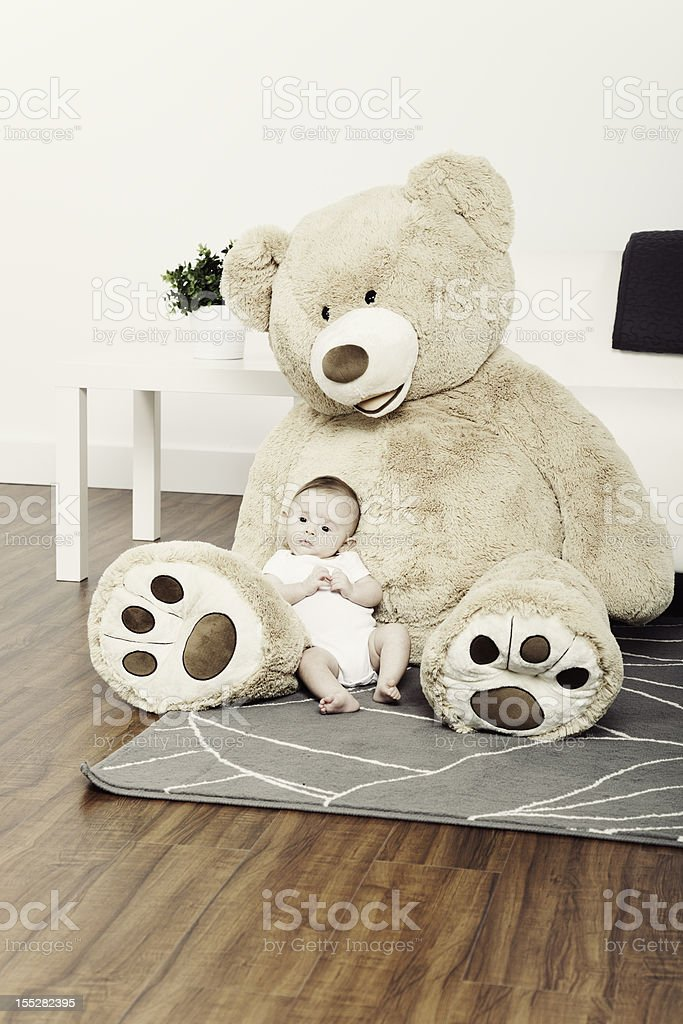 Three Month Old Baby royalty-free stock photo