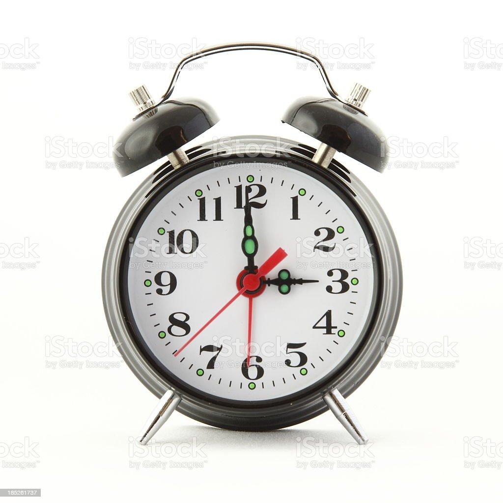 Three O'Clock stock photo