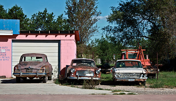 Classic Junk Cars For Sale Pictures Images And Stock Photos Istock