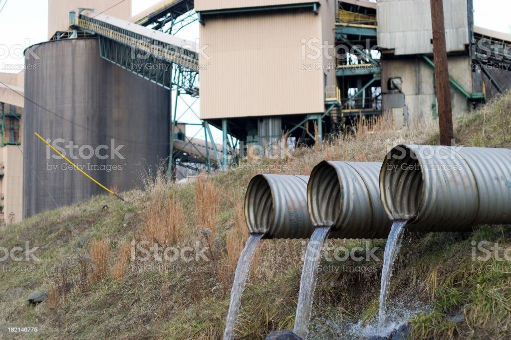Three pipes royalty-free stock photo