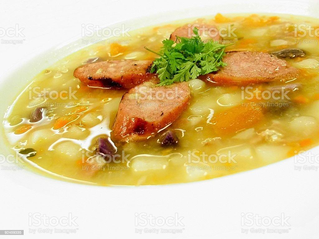 Three Potato Soup stock photo